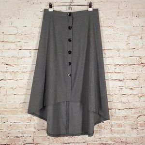 Zara Woman High Low Skirt Large